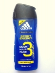 Adidas 3 Active Sport Energy sprchový gel 250 ml