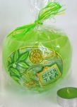 Svícen Tea Time, Green Tea, Bartek Candles, 12 cm, 280g