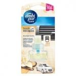 Ambi Pur Car Fresh Escapes Moonlight Vanilla náplň 7ml