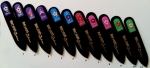 Glass Nail files HAND painted, Swarovski