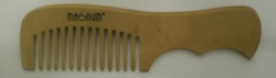 MAGNUM Wooden comb pear wood with handle